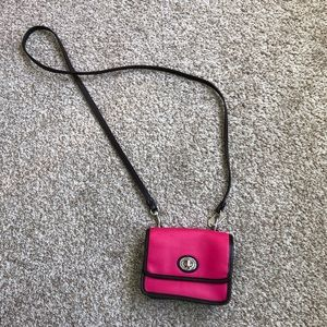 Coach Legacy Mini Penny Crossbody Bag Leather